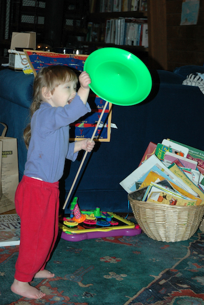 Nina Juggling Christmas 2005